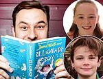 So, David Walliams, is your granny REALLY a gangster? the author was asked by child fans